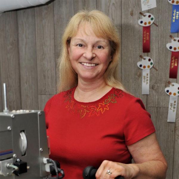 Workshop speaker Mary Jo Busch