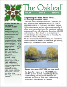October 2015 issue of The Oakleaf