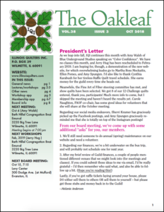 October 2018 issue of The Oakleaf