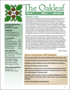 November 2014 issue of The Oakleaf