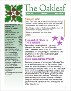 November 2016 issue of The Oakleaf