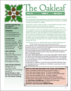 December 2014 issue of The Oakleaf