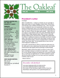 December 2018 issue of The Oakleaf