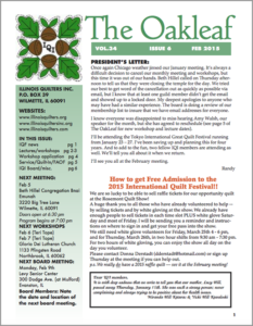 February 2015 issue of The Oakleaf