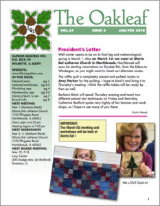 February 2018 issue of The Oakleaf