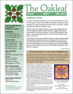 March 2014 issue of The Oakleaf