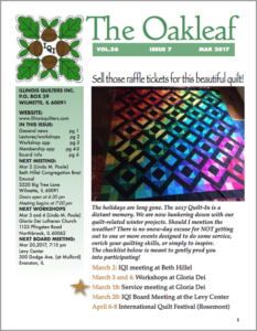 March 2017 issue of The Oakleaf