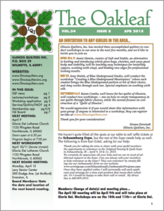 April 2015 issue of The Oakleaf