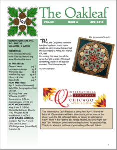 April 2016 issue of The Oakleaf