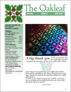 April 2017 issue of The Oakleaf