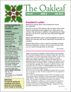 April 2018 issue of The Oakleaf