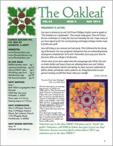May 2014 issue of The Oakleaf