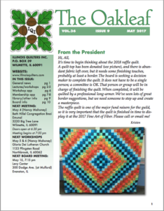 May 2017 issue of The Oakleaf