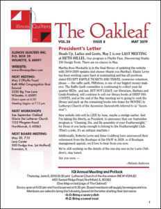 May 2019 issue of The Oakleaf