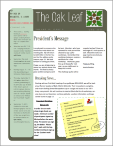 June 2011 issue of The Oakleaf