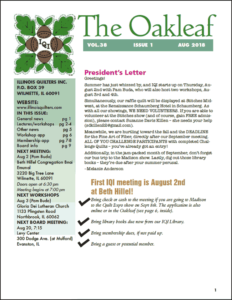 August 2018 issue of The Oakleaf