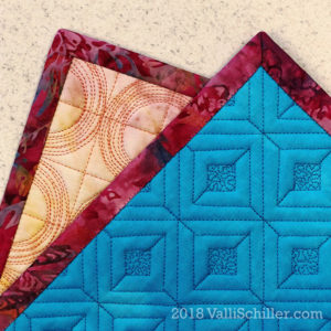 Free-Motion Quilting, Bindings