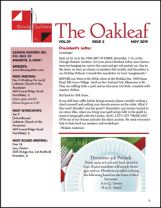 November 2019 issue of The Oakleaf