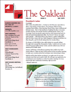 December 2019 issue of The Oakleaf