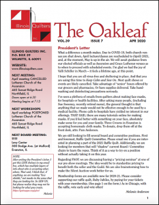 April 2020 issue of The Oakleaf