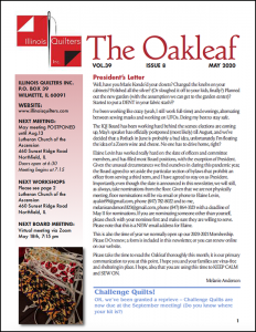May 2020 issue of The Oakleaf