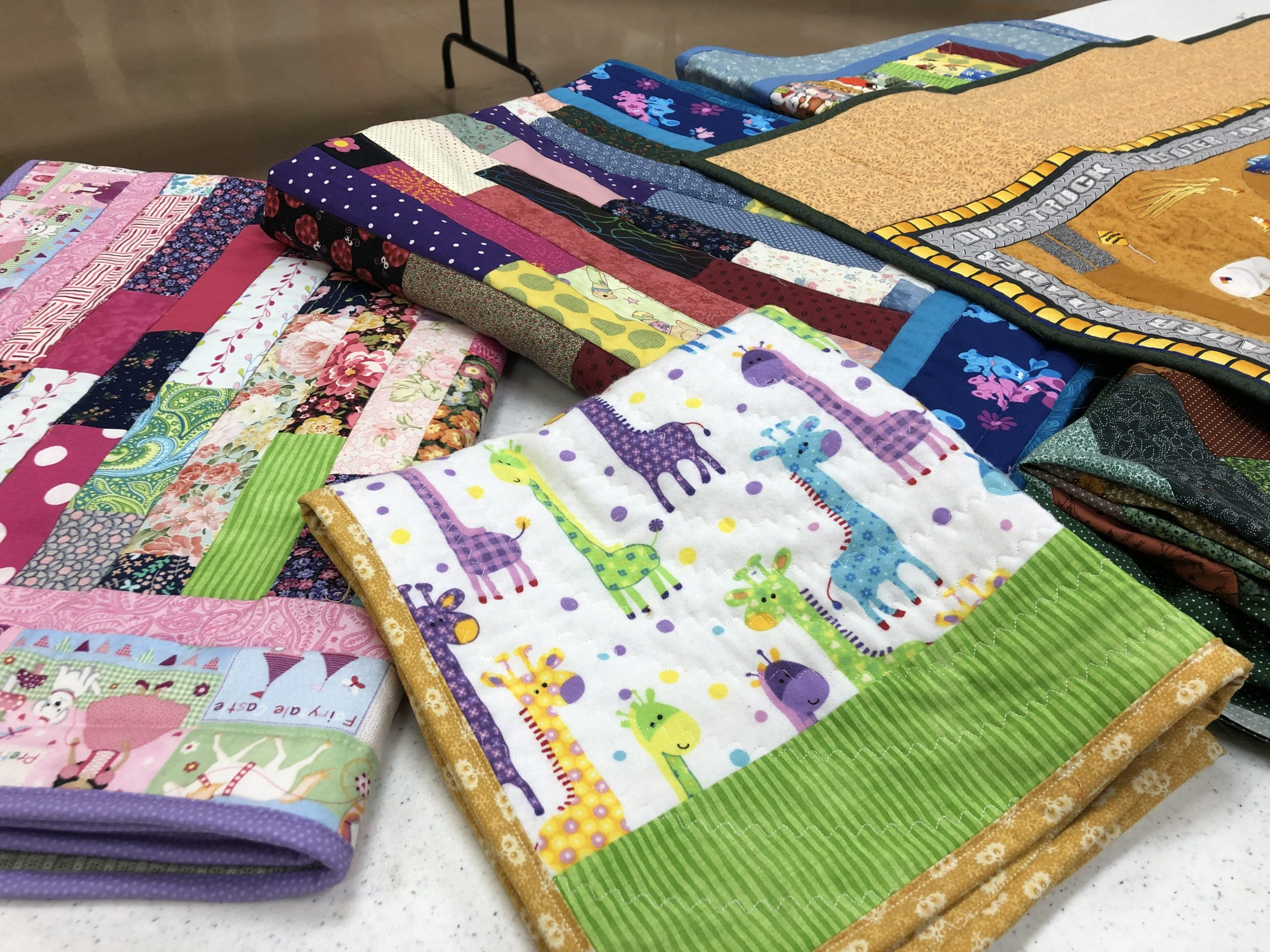 Service quilts for kids
