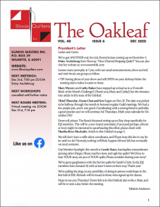 December 2020 issue of The Oakleaf
