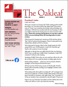 November 2020 issue of The Oakleaf