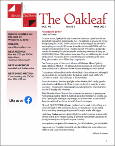 March 2021 issue of The Oakleaf