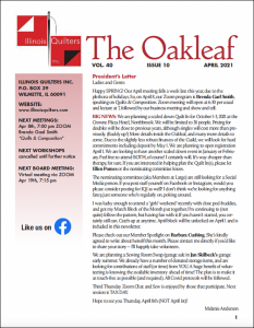 The April 2021 issue of The Oakleaf