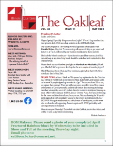 The May 2021 issue of The Oakleaf