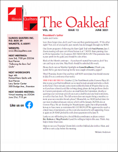 The June 2021 issue of The Oakleaf
