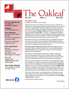 The July 2021 issue of The Oakleaf