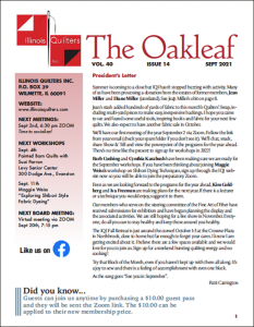 The September 2021 issue of The Oakleaf