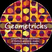Geometricks illustration by Brenda Gael Smith