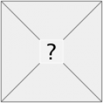 Empty box with a question mark inside