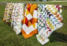 Jenny Doan's Missouri Star quilts