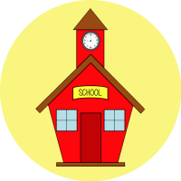 Schoolhouse illustration